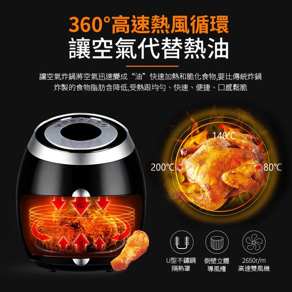 《通過商檢x送噴油瓶》科帥 液晶觸控氣炸鍋 AF606 雙鍋5.5L 大容量氣炸鍋 空氣炸鍋