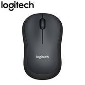 Logitech 羅技 M221 無線靜音滑鼠 黑【送幾何菱格紋鼠墊】
