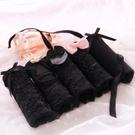 日繫少女內褲純棉襠灰黑色性感蕾絲面料情趣透明網紗三角內褲禮盒