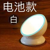 充電池led臥室起夜光控聲控床頭節能小夜燈過道樓道壁燈人體感應 雙12購物節必選
