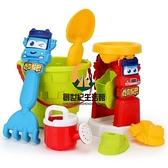 百變校巴歌德夏日寶寶洗澡沙灘戲水玩具早教工具挖沙漏鏟子玩沙土玩雪【創世紀生活館】