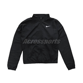 Nike 外套 Swoosh Run 黑 白 女款 運動夾克 收納 托特包 運動休閒【ACS】 DD4926-010