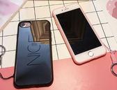 鏡面 笑臉 掛繩 情侶 iPhone 7/8 plus i7 手機殼 軟殼 全包 tpu 韓版 韓風 可愛 簡約 保護殼