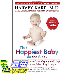 [美國直購] 2016美國暢銷書 The Happiest Baby on the Block; Fully Revised and Updated Second Edition