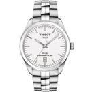 TISSOT 天梭 PR100 Powermatic 80 機械手錶-銀/39mm T1014071103100