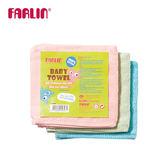 【FARLIN】兒童小方巾手帕口水巾(100%純棉)(三入組)