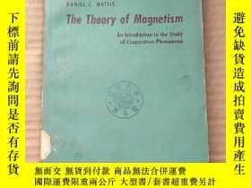 二手書博民逛書店the罕見theory of magnetism(P808)Y173412