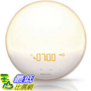 [美國直購] 110- 240V 2016 Philips 起床燈 Wake-up Light with Colored Sunrise Simulation #691687