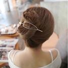 盤髮器 韓國複古簡約髮簪盤髮器優雅古風簪子髮簪馬尾扣插針髮夾頭飾髮飾 店慶降價