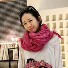 圍巾 素色 抓皺 巴黎紗 甜美 多色 百搭 圍巾 170*90cm【10W0177】