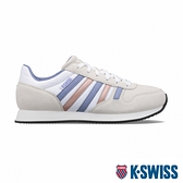 【超取】K-SWISS Granada復古運動鞋-女-白/紫/玫瑰金
