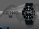 【時間道】SEIKO 精工 5SPORTS新世代5號機械錶/黑面槍色殼黑橡膠帶(4R36-07G0K/SRPD65K2)免運費