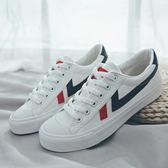 (全館一件免運)DE shop~(GG-7833)學生港味復古帆布鞋子女百搭原宿風板鞋休閒鞋