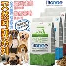 此商品48小時內快速出貨》Monge瑪恩吉》NS天然呵護迷你成犬羊肉+米/成犬雞肉+米 2.5kg