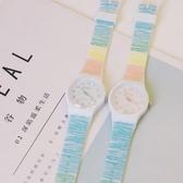 獨角獸手錶ins 原宿風軟妹可愛日系少女生學生潮流糖果色卡通涂鴉 台北日光