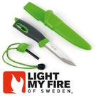 【Light My Fire 瑞典 魔術火刀 綠】LF1211-33/魔術火刀/戶外刀具/戶外生火