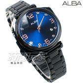 ALBA雅柏錶 情人節限定  不銹鋼錶帶 施華洛世奇 鑲鑽 IP黑電鍍 女錶 AG8J77X1 VJ32-X290SD