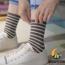 4雙裝 中長筒純棉五指襪子女分趾日系高幫【創世紀生活館】