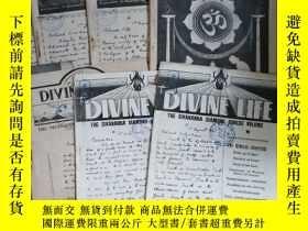 二手書博民逛書店the罕見divine life 1946年第3.4.6.7.8