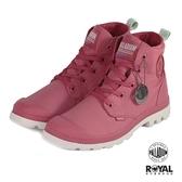 Palladium 新竹皇家 Pampa Puddle 玫瑰粉紅色 防水布 輕量 高統 女款 NO.I9111