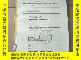 二手書博民逛書店the罕見logic of quantum mechanics(P1020)缺前封皮Y173412