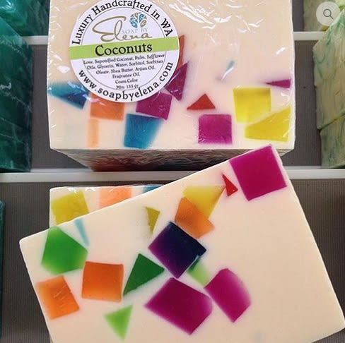 無毒天然澳洲艾琳娜 SOAP BY ELENA 養膚手工皂-南洋椰林