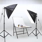 攝影燈套裝 主播補光燈拍照拍攝燈箱 柔光燈便攜攝影棚小型igo 3c優購