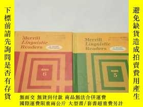 二手書博民逛書店Merrill罕見Linguistic Readers(Reader 5、6)【語言學閱讀,查爾斯·弗裏斯,英文原