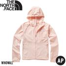 【The North Face 美國 女 防風防曬外套《粉》】49B4/防曬外套/薄外套