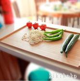 楠竹實木面板切菜板大號水餃案板揉面板搟面板和面皮板刀板竹砧板 DR3735【KIKIKOKO】