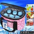 車載冰箱無源車載迷你小冰箱車家兩用冷藏保溫包冷暖箱戶外冰包袋