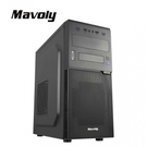 Mavoly 松聖電腦機殼 奇異果 (黑) 一大二小 USB3.0