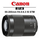 CANON EF-M 55-200mm f/4.5-6.3 IS STM(平輸)