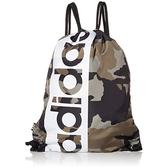 Adidas- 超大圖形背袋包(迷彩色)