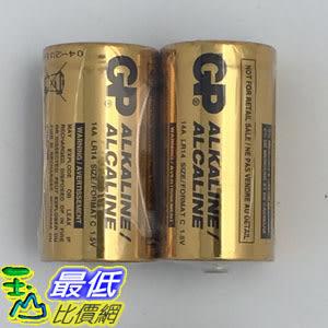 [玉山最低比價網] 未拆封 特價 GP超重量級鹼性電池2號A2 電池 2入 14A , 1.5V TA3