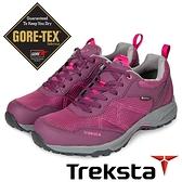 【Treksta 韓國】BERGEN LACE 女 GTX防水低筒健行鞋『紫紅』KR21BW 越野鞋.登山鞋.Gore-Tex
