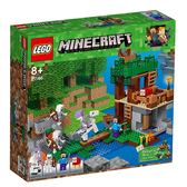 【LEGO 樂高積木】Minecraft 創世神系列-The Skeleton Attack LT-21146
