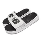 New Balance 拖鞋 1501 黑 白 男女鞋 厚底 NB 涼拖鞋 紐巴倫 【ACS】 SD1501GWTM
