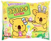 【吉嘉食品】樂天小熊餅家庭號(巧克力)1包10入120公克{4903333199655}[#1]