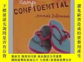 二手書博民逛書店英文原版罕見《 Jenna s Dilemma 》 【 Mel