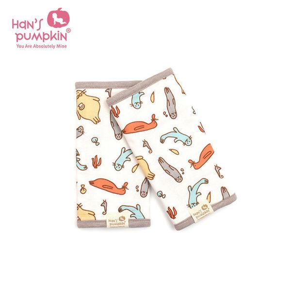 Hans Pumpkin 寶寶揹巾專用 肩帶口水巾