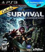 PS3 Cabelas Survival: Shadows of Katmai 坎貝拉求生記:卡特邁的陰影(美版代購)