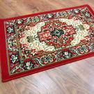 范登伯格 艾美樂進口優質地毯-朱雀(紅)50x80cm