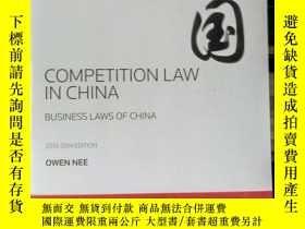 二手書博民逛書店中國罕見COMPETITION LAW IN CHINAY153