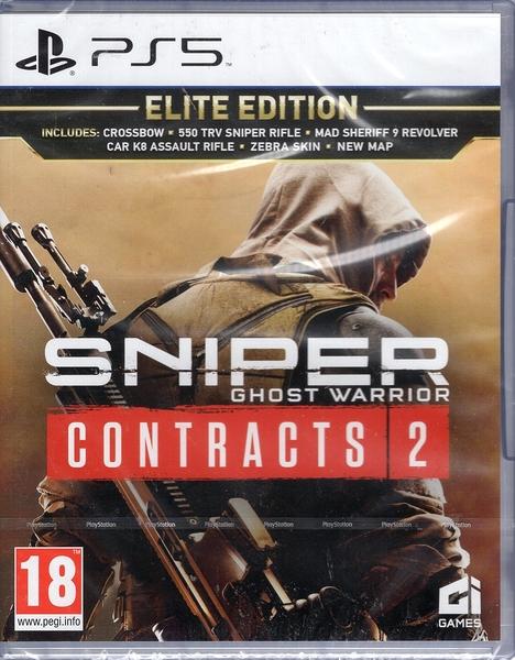 PS5遊戲 狙擊之王 幽靈戰士 契約2 Sniper: Ghost Warrior Contrac2中文版【玩樂小熊】