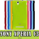 E68精品館 MERCURY GOOSPERY SONY C3 矽膠套 軟殼 殼 保護套 D2533 手機套 粉彩 珠光 果凍套 手機殼