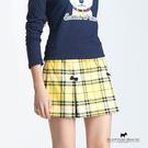 立體小蝴蝶結點綴格紋裙 Scottish House【AC2111】