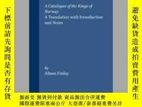 二手書博民逛書店Fagrskinna,罕見A Catalogue of the Kings of NorwayY405706