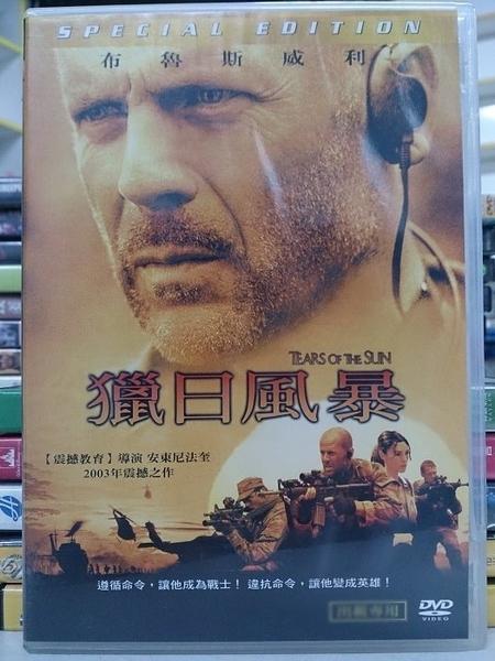 挖寶二手片-G04-077-正版DVD*電影【獵日風暴】-布魯斯威利*莫妮卡貝露琪*柯爾豪瑟