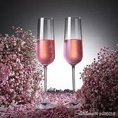 紅酒杯歐式香檳杯6只套裝創意水晶玻璃紅酒杯高腳杯一對起泡酒杯2個禮盒【快速出貨】